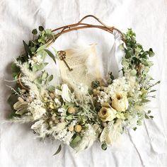 ラスティック♡パンパスグラスのウェディングブーケデザイン | marry[マリー] Floral Wreath, Bouquet, Bloom, Wreaths, Decor, Floral Crown, Decoration, Door Wreaths, Bouquet Of Flowers