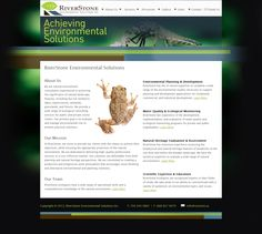 RiverStone Environmental Solutions is a natural environment consultancy in Bracebridge, Ontario. The website was created by Adam Gha of Bluefish Technology.