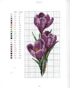 Gallery.ru / Фото #2 - 18 - Auroraten Fabric Yarn, Crochet Cross, Knit Crochet, Cross Stitch Flowers, Cross Stitch Embroidery, Cross Stitch Patterns, Flower Patterns, Le Point, Needlepoint