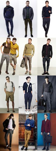 Men's Modern Pleated Trousers Lookbook
