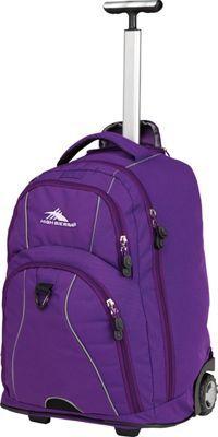 9dec4b7dd249 High Sierra Freewheel Rolling Backpack Deep Purple - via eBags.com! Luggage  Backpack
