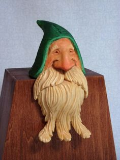 Carved Santa on Pinterest | Wood Carvings, Santa Ornaments and ...