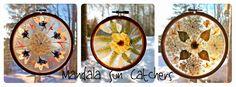 Twig and Toadstool: Mandala Sun Catchers
