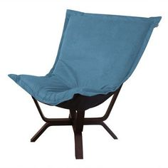 Howard Elliott Milan Mojo Puff Chair Upholstery: Turquoise