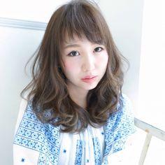 前髪はオン眉アシメがかわいい♡真似したくなること間違いなし! Hair Beauty, Hairstyle, Hair Style, Hair Styles, Hairdos, Style Hair, Hair Cut, Hairstyles