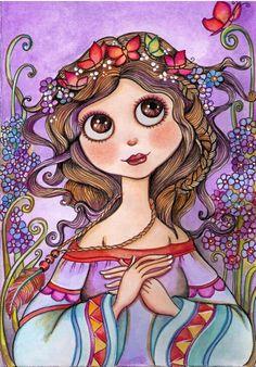 """Celeste"" by Lidia Gennari."