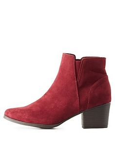 Ankle Boots & Booties | Charlotte Russe