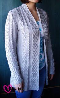 Ideas For Knitting Patterns Free Women Jumper Aran Sweaters Knit Cardigan Pattern, Sweater Knitting Patterns, Lace Knitting, Knitting Designs, Knit Patterns, Jumper Patterns, Cable Cardigan, Jumpers For Women, Cardigans For Women