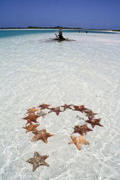 When at the beach, keep an open heart.....