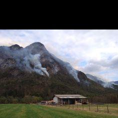 Incendio di Val Tramontina