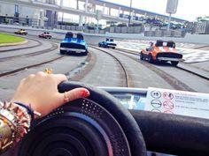 Race cars at Magic Kingdom !