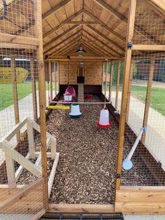 Chicken Shed, Chicken Home, Chicken Garden, Chicken Runs, Diy Chicken Coop, Backyard Coop, Backyard Chicken Coop Plans, Building A Chicken Coop, Backyard Farming