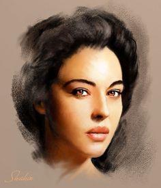 Monica Bellucci by shahin