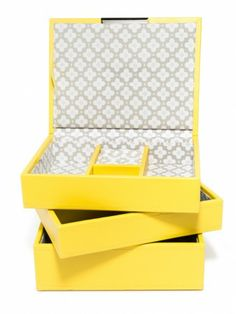 Stackable Tray Jewelry Box