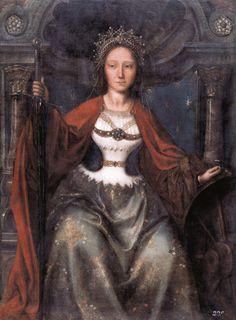 Sainte Catherine d'Alexandrie, par Quinten Massys - Galerie de peinture du château de Prague