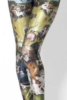 I think all you Missouri need these tights!   LOL!   Garden of Earthly Delights tights -- Fabulous Art History --