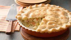 Chicken pie is comfort food at its best--now it's gluten free!