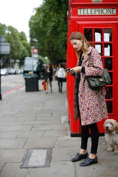 The Blonde Prep: London Street Style
