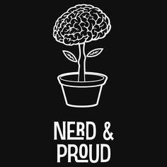 Nerd and Proud Brain Tree