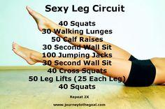 Sexy Leg Workout circuit workouts, fit, sexi leg, exercis, legs, health, leg challeng, leg workouts, summer leg