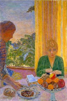 Pierre Bonnard - La blouse verte