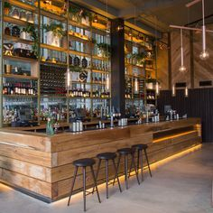Image 10 of 34 from gallery of 2016 Restaurant & Bar Design Awards Announced. The Refinery (Regent Place, London, UK) / Fusion DNA . Image Courtesy of The Restaurant & Bar Design Awards