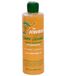 THE SCRUBBER Sure Clean-Not just for men! My husband always has this in the shower to clean up after work. His skin is so smooth & soft. One day in the shower, I poured some in my hand. It's super grainy so I started using it as a body scrub with my shower sponge. I scrub first with my hands and then the sponge.Especially arms, feet, & legs. I then use my soap & wash again. Don't like the lemon smell. Follow up with Baby Oil all over my body. Then shave my legs. My skin is so clean & soft.