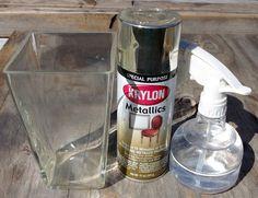Mom's Crafty Space: DIY Mercury Glass {Tutorial}