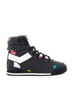 the best attitude bb862 38f26 Trendy Womens Sneakers   Pony Trackitback Dee   Ricky Hiker High Top  Sneakers Zapatos Deportivos,