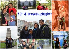 Travel Highlights and Adventures of 2014