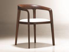 Stuhl aus Holz mit Armlehnen CORVO by NURUS | Design Noé Duchaufour-Lawrance