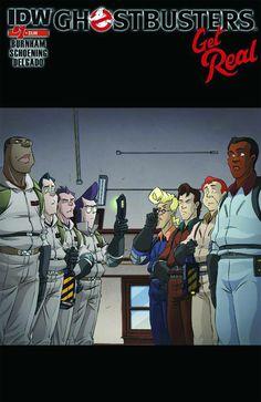 Ghostbusters Get Real IDW) comic books Ghostbusters Ghost, Ghostbusters The Video Game, Extreme Ghostbusters, Cartoon Logo, Black Cartoon, Vintage Cartoon, Comic Book Covers, Comic Books, Caricatures