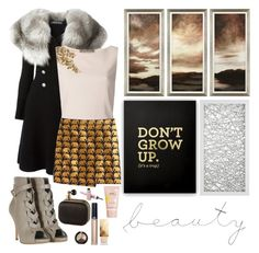 """""""03 JAN 2015"""" by halliemcleod ❤ liked on Polyvore featuring Alexander McQueen, Alberta Ferretti, J.Crew, Giorgio Armani, Oui, Gianvito Rossi, Burberry, WALL, Marc Jacobs and Barry M"""