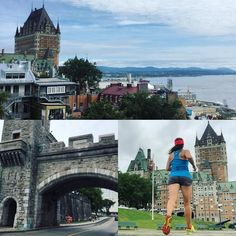 Courir en touriste pour visiter j'adore ça ! #summertime #running #seenonmyrun #quebeccity #quebec #canada #chateaufrontenac #hotel #ktsummer #karitraa #happierhealthierstronger #daretoplay #runninggirl #stravaphoto #instarunners