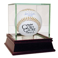 Derek Jeter Signed Gold Glove Baseball w 5x GG Insc. (MLB Auth)