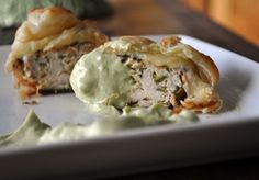 Puff Pastry wrapped Turkey Burger Sliders