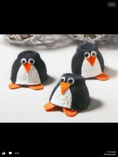 Egg box penguins