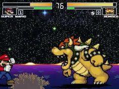 MUGEN無限格鬥 Mario VS Bowser【Watch Mode】瑪利歐VS庫巴【觀戰模式】
