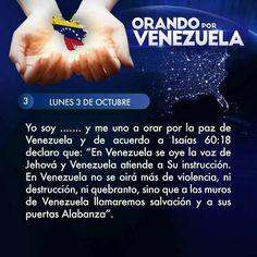 Orando por Venezuela día 3