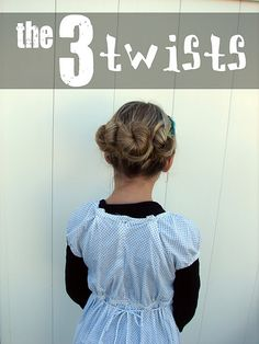 More cute kiddy hair styles...maybe I will try some of them on myself!!!