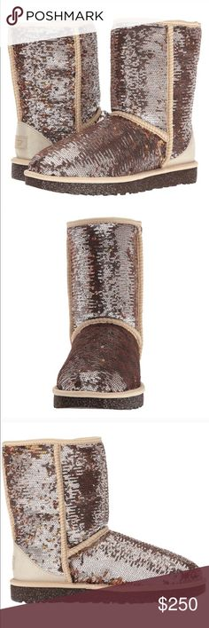 Ugg boots Brand new in box/plastic genuine UGG boots, 100% authentic. Women's size 7. Will come gift wrapped, same or next day shipping. UGG Shoes Winter & Rain Boots