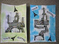 Nénuph'Art Ateliers: LA TOUR EIFFEL SANS DESSUS-DESSOUS : Le 05 Janvier 2011.
