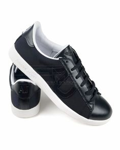 Zapatillas Armani Jeans - Azul Grafito Jeans Azul, Coq, Emporio Armani, Men's Shoes, Fashion Shoes, Kicks, Louis Vuitton, Ring, Sneakers