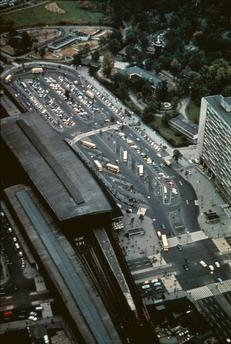 Simple Berlin Luftaufnahme Bahnhof Zoologischer Garten