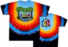 Grateful Dead Wood Bears edition tie dye t shirt. Tie Dye Shirts, Band Shirts, Dye T Shirt, Grateful Dead Shirts, Grateful Dead Dancing Bears, Woodstock, Hippie Shop, Bear T Shirt, Tour T Shirts