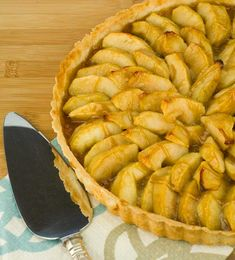 Gluten Free Caramel Apple Tart Recipe