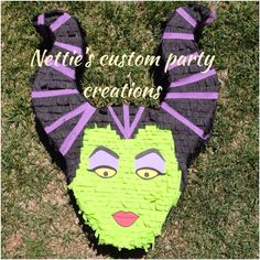 Sleeping beauty's maleficent inspired pinata on Etsy, $50.00