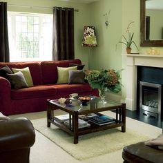 green living space benjamin moore - pale avacado - 2146-40
