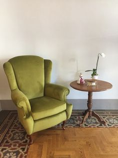 Wingback Chair, Accent Chairs, Furniture, Home Decor, Upholstered Chairs, Decoration Home, Room Decor, Wing Chairs, Wingback Chairs