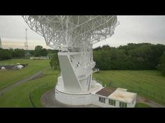 (28) Flyover Jodrell Bank - YouTube Radio Astronomy, University Of Manchester, Statue Of Liberty, Fountain, Outdoor Decor, Youtube, Liberty Statue, Water Fountains, Youtube Movies